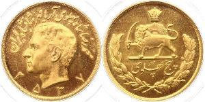 5 Pahlavi Iran Gold Mohammad Reza Pahlavi (1919-1980)