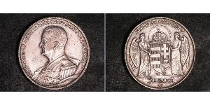 5 Pengo Kingdom of Hungary (1920 - 1946) Silber Miklós Horthy