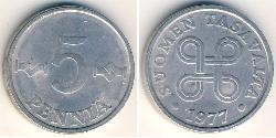 5 Penny Finland (1917 - ) Aluminium