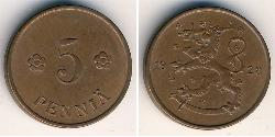 5 Penny Finland (1917 - ) Bronze