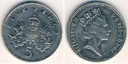 5 Penny United Kingdom (1922-)