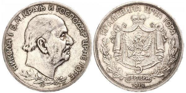 5 Perper  Montenegro