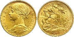 5 Peso Chile Oro