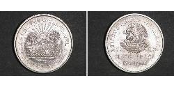 5 Peso México Plata