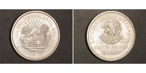 5 Peso Mexico Silver