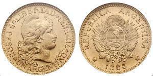5 Peso República Argentina (1861 - )