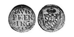 5 Pfennig Electorate of Bavaria (1623 - 1806) Silver