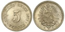 5 Pfennig Deutsches Kaiserreich (1871-1918)