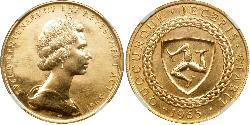 5 Pound Isle of Man Gold