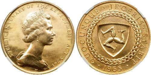 5 Pound Isle of Man Gold Elizabeth II (1926-)