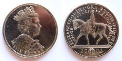 5 Pound Vereinigtes Königreich (1922-) Kupfer/Nickel Elizabeth II (1926-)