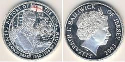 5 Pound Jersey Silber