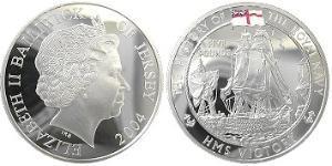 5 Pound Jersey Silber Elizabeth II (1926-)