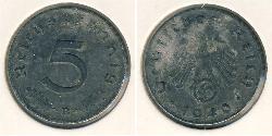 5 Reichpfennig Deutsches Reich (1933-1945) Zink