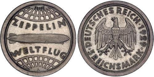 5 Reichsmark Германская империя (1871-1918) Серебро