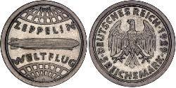5 Reichsmark 德意志帝國 (1871 - 1918) 銀