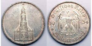 5 Reichsmark Nazi Germany (1933-1945) Silver