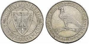 5 Reichsmark Веймарская республика (1918-1933)