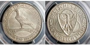5 Reichsmark République de Weimar (1918-1933)