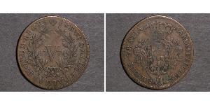 5 Reis Kingdom of Portugal (1139-1910) Copper