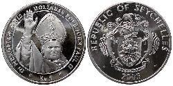 5 Rupee Seychelles  John Paul II (1920 - 2005)