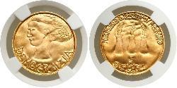 5 Scudo San Marino Gold