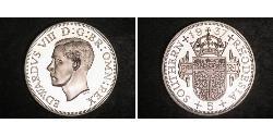 5 Shilling 南羅德西亞 銀 爱德华八世 (1894-1972)