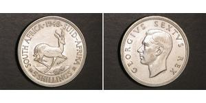 5 Shilling South Africa 銀 乔治六世 (1895-1952)