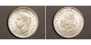 5 Shilling Afrique du Sud Argent George VI (1895-1952)