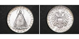 5 Shilling Federal State of Austria (1934-1938) Argento