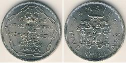 5 Shilling Jamaica (1962 - ) Copper/Nickel