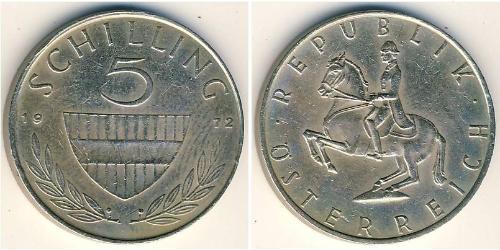 5 Shilling Republic of Austria (1955 - ) Copper/Nickel