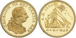 5 Shilling Austrian Empire (1804-1867) Gold George III (1738-1820)