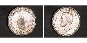 5 Shilling Südafrika Silber Georg VI (1895-1952)