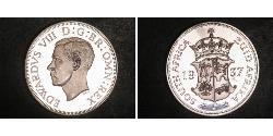 5 Shilling South Africa Silver Edward VIII (1894-1972)