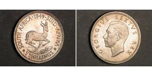 5 Shilling South Africa Silver George VI (1895-1952)