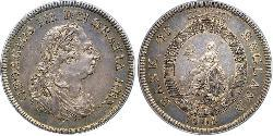 5 Shilling / 1 Dollar Royaume-Uni de Grande-Bretagne et d