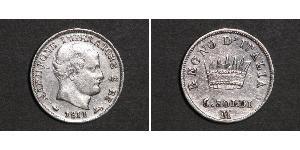 5 Soldo 義大利王國 (拿破崙時代) (1805 - 1814) 銀 拿破仑一世(1769 - 1821)