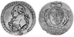 5 Thaler Anhalt-Bernburg (1603 - 1863) Gold Alexius Frederick Christian, Duke of Anhalt-Bernburg (1767 – 1834)