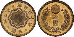 5 Yen Japan Gold
