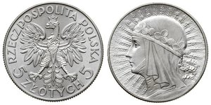 5 Zloty 波兰第二共和国 (1918 - 1939) 銀 扬三世 (波兰)