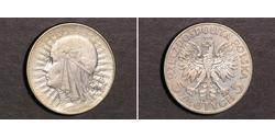 5 Zloty 波兰 銀