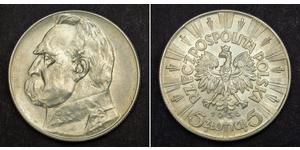 5 Zloty Second Polish Republic (1918 - 1939) Silver Józef Piłsudski