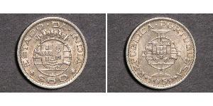 60 Сентаво Португальская Индия (1510-1961) Никель/Медь