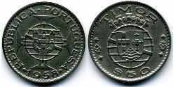 60 Сентаво Португалия / Восточный Тимор (1702 - 1975) Цинк/Медь
