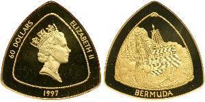 60 Dollar Bermuda Gold Elizabeth II (1926-)