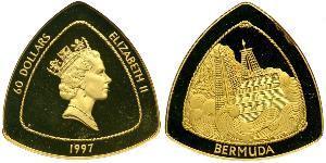 60 Dollar Bermudes Or Elizabeth II (1926-)