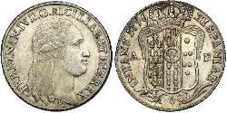 60 Grana Italian city-states Silver Ferdinand I of the Two Sicilies (1751 - 1825)