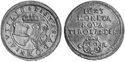 60 Kreuzer Holy Roman Empire (962-1806) Silver