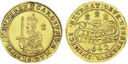 60 Shilling Kingdom of England (927-1649,1660-1707) Gold Charles I (1600-1649)